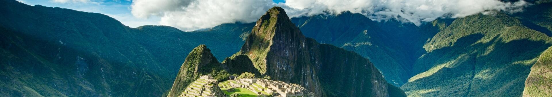 Machu Picchu Travel Header