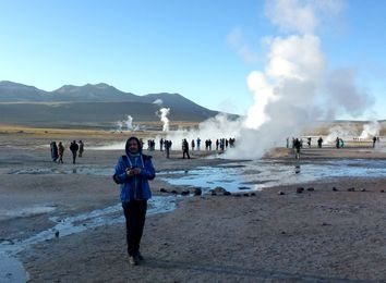 Optional: Tatio-Geysire